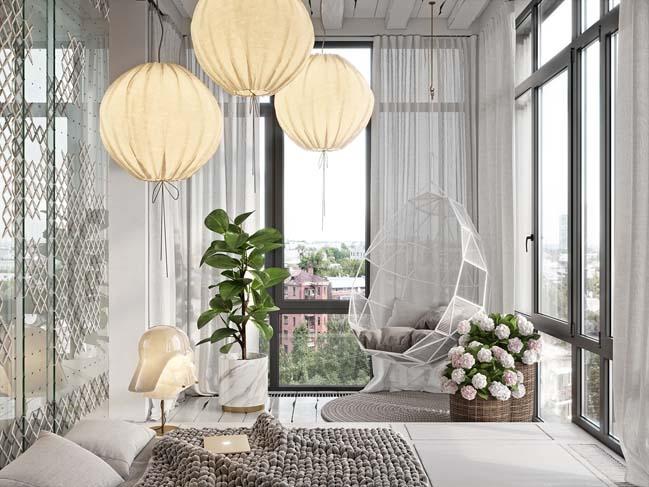 Mẫu phòng ngủ ấn tượng với ý tưởng đan thêu cho mùa đông thêm ấm