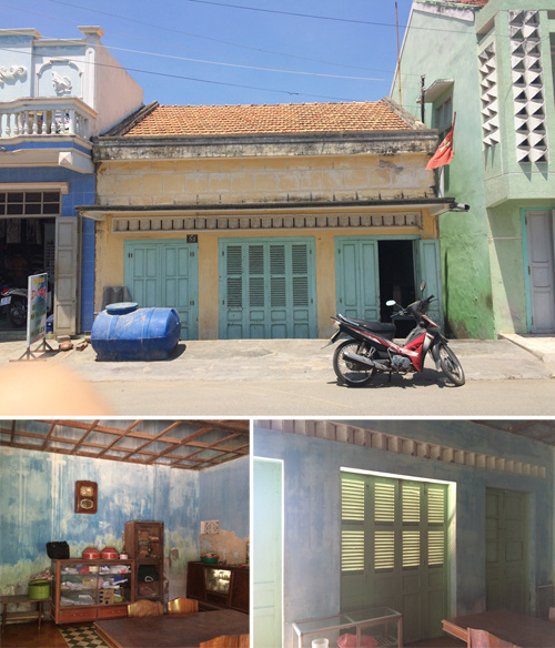Ngôi nhà 50 năm tuổi ở Bình Thuận sáng bừng sau khi sửa