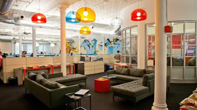 Thiết kế văn phòng Startup tuyệt đẹp.
