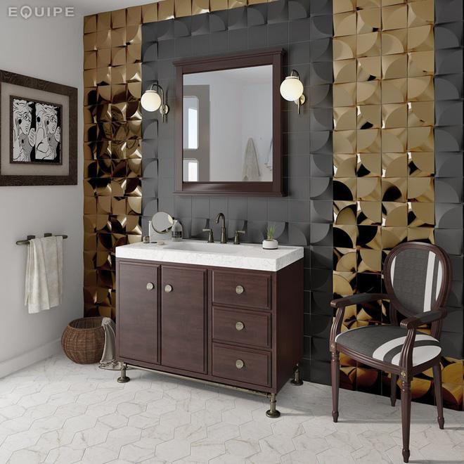 Phòng tắm trở nên