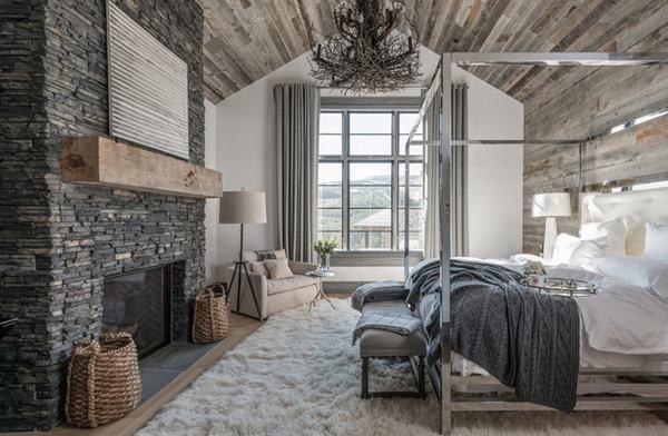 Bí quyết trang trí phòng ngủ ấm áp khi đông về