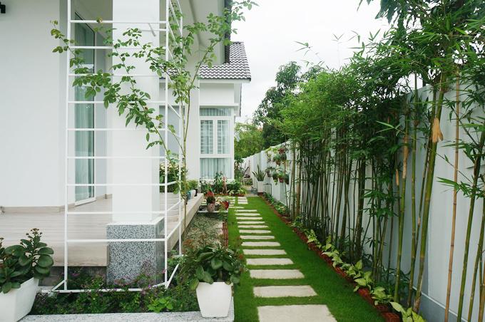 Ngôi nhà giống như góc trời Âu ở vùng quê Khánh Hòa