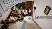"""Ngôi nhà """"nằm trong nhà"""" đẹp mê mẩn của gia đình nhiều thế hệ tại Sài Gòn"""