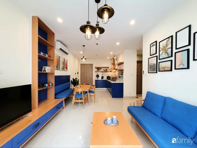 Căn hộ 55m² đẹp yên bình cho gia đình thư giãn cuối tuần ở ngoại ô Hà Nội