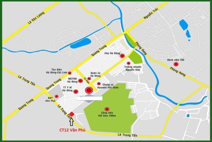 Vị trí dự án Hà Đông Park View