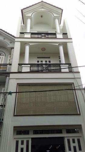Nhà 2 lầu 1 lửng hxh, 4x17, Lê Văn Khương