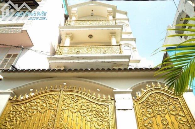 Biệt thự Châu Âu HXH Phan Xích Long , DT 6x17m (NH 7m) ,nhà mới xây 4 Lầu. Gía 10,8 tỷ
