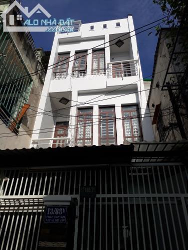 Bán nhà 4x16m, 3 tấm,HXH  đường Nguyễn Tư Giản, p.12, Gò Vấp. Giá chỉ 3,35 tỷ