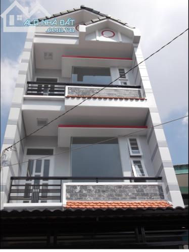 Nhà đường Phan Văn Hớn, Q12, gần khúc cắt QL1, 1 trệt 2 lầu, SHR, 1 tỉ 5