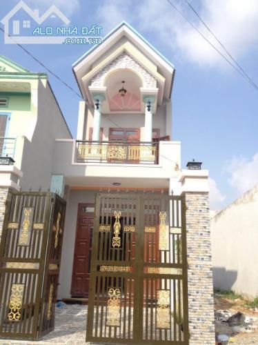 Nhà mặt tiền đường ở Quách Điêu,Bình Chánh,72m2