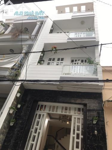 Bán gấp nhà 2 MT HXH 6m Nguyễn Kiệm, P4, Phú Nhuận. DT 4x10,5m, trệt, 2 lầu, ST