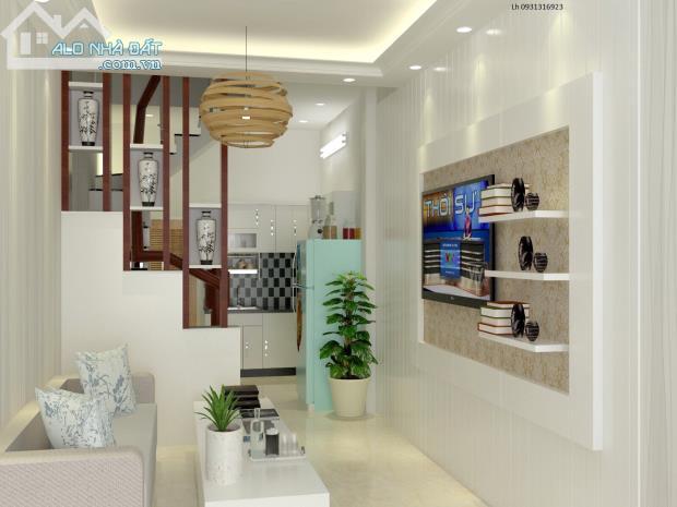 Bán nhà phố phường Tam Bình, Thủ Đức. 1 trệt 1 lầu đúc kiên cố, 60m2 giá 1.23 tỷ/căn